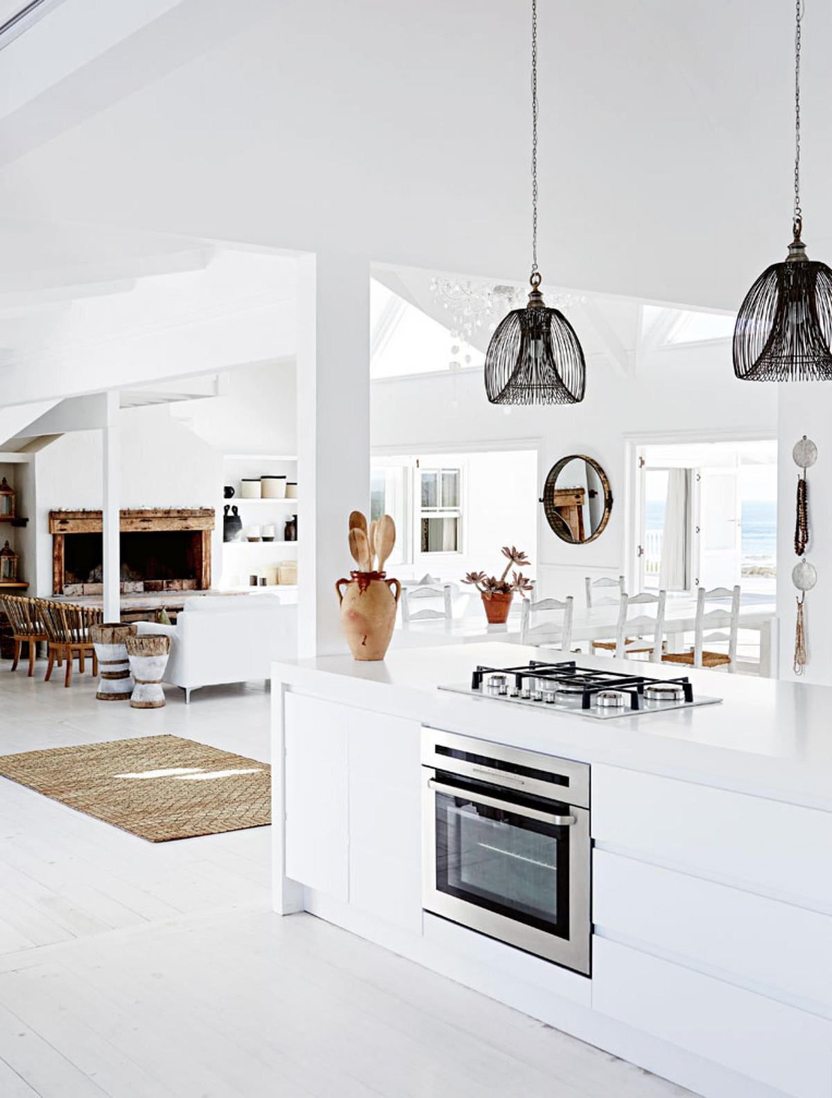 Home Tour An All White Beach House The Home Studio Interior Designers