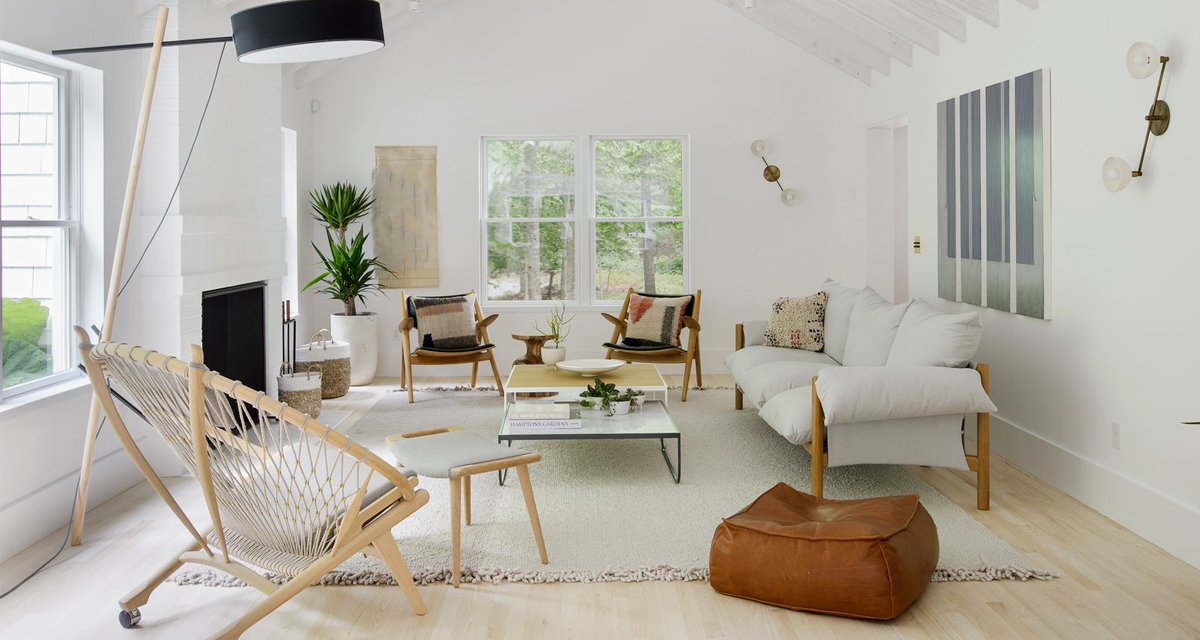A White Scandinavian Style Beach House The Home Studio