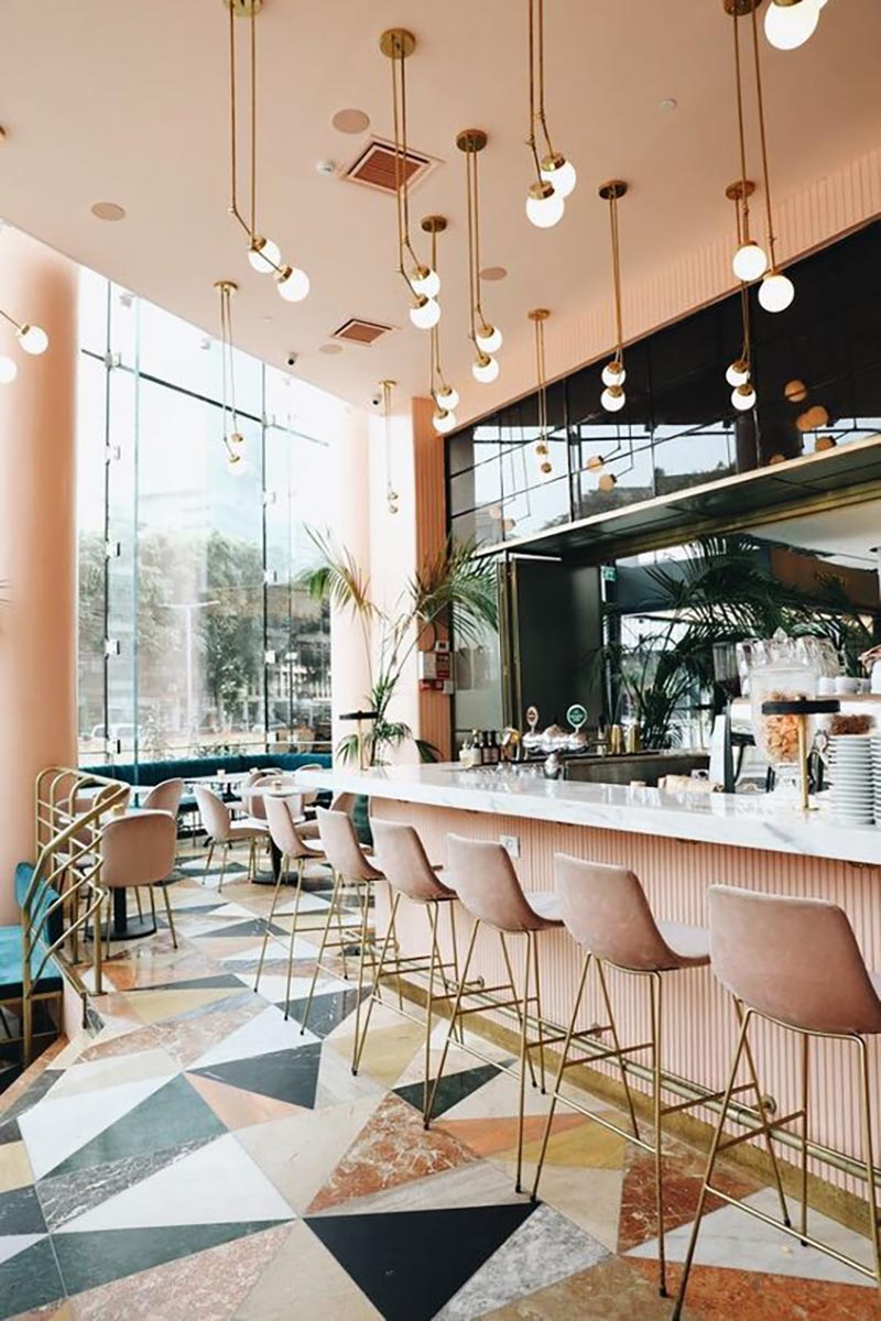 Restaurant Lighting Inspiration The Home Studio Interior Designers
