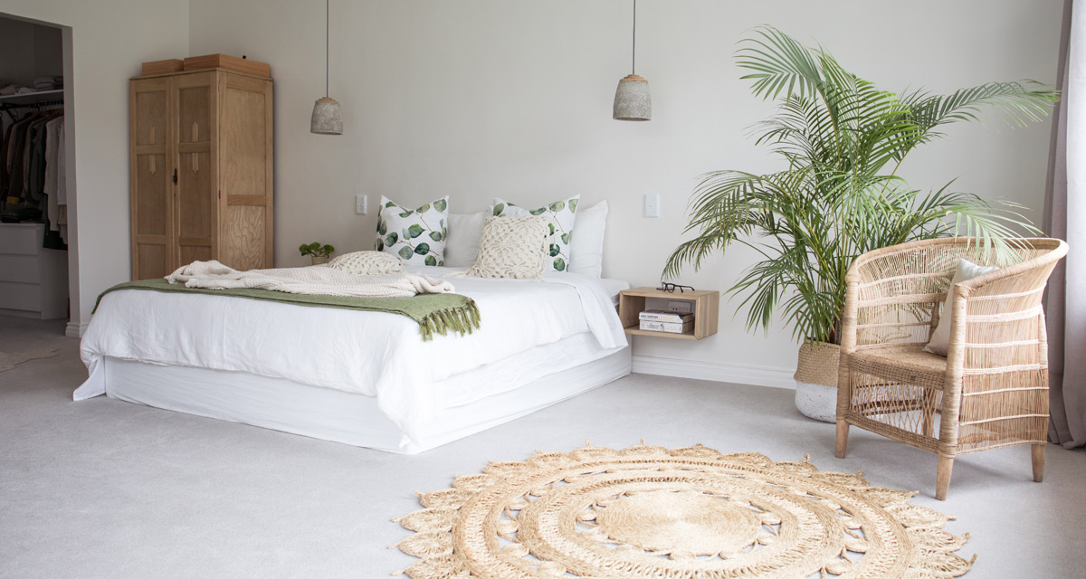 THS PROJECT | WHITE + GREEN BEDROOM | The Home Studio ...